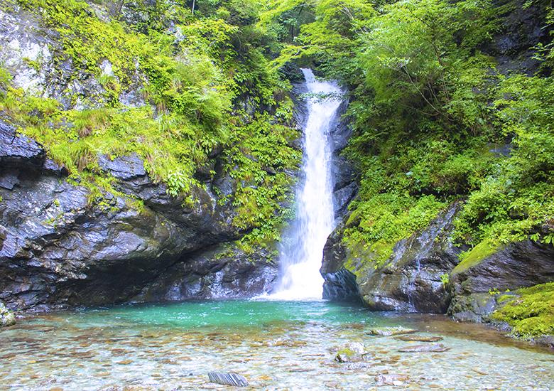 小金滝下の滝