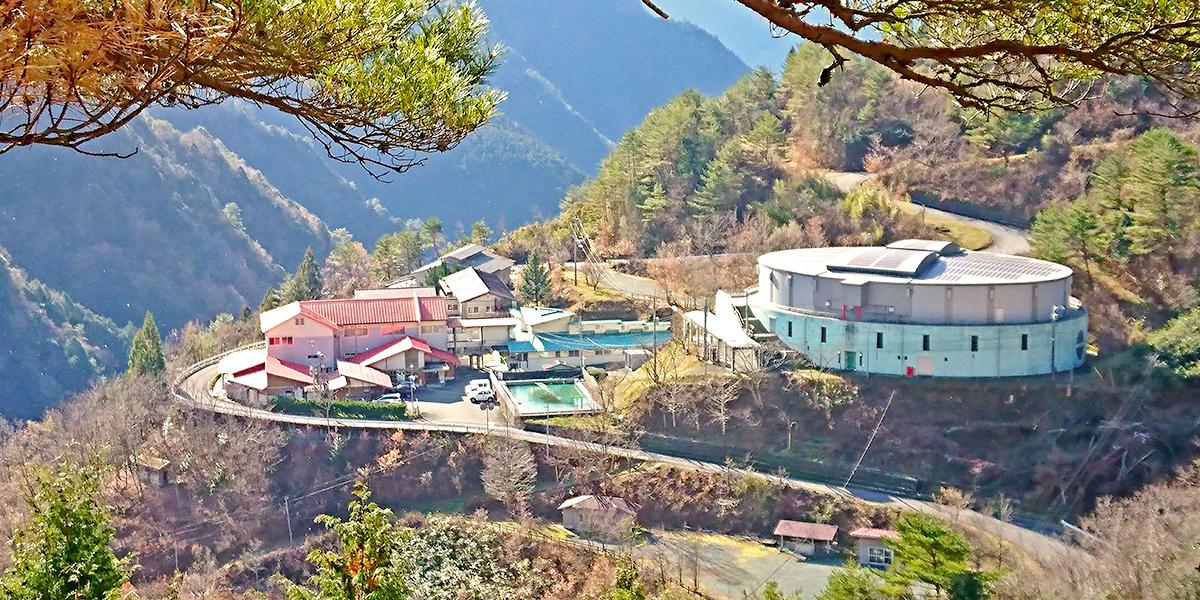 元・小中学校を活用した宿泊施設 自然王国「白滝の里」