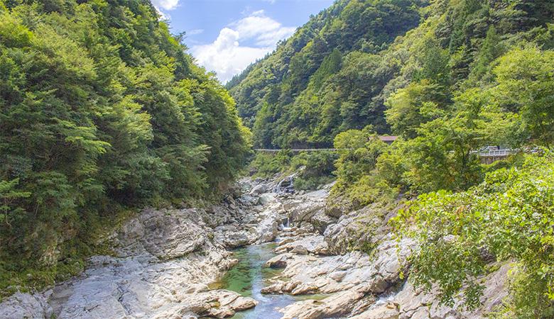 奥吉野渓谷 ドライブコース