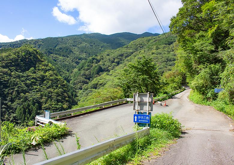大田尾峠超えの道