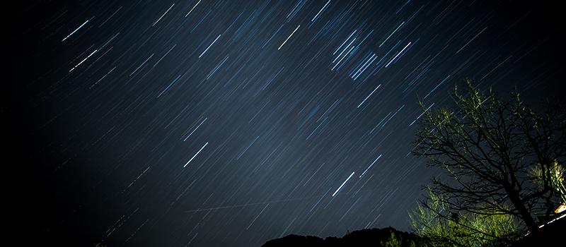星空バーベキュー】満天の星