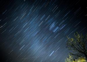 白滝の里の星空