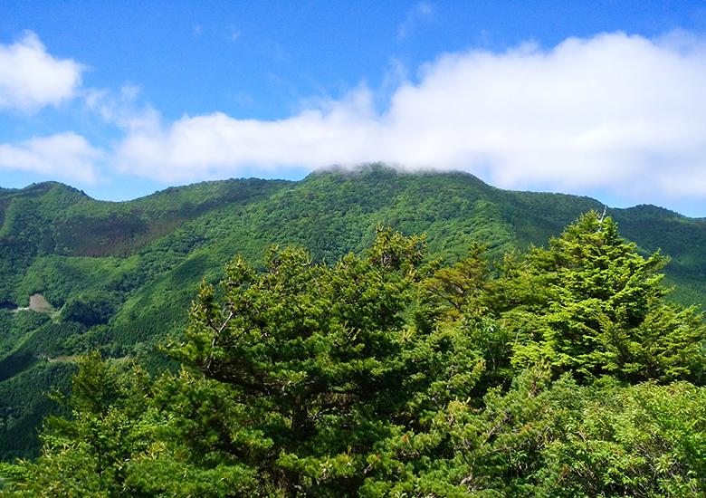 東三ツ森山-野地峰縦走登山