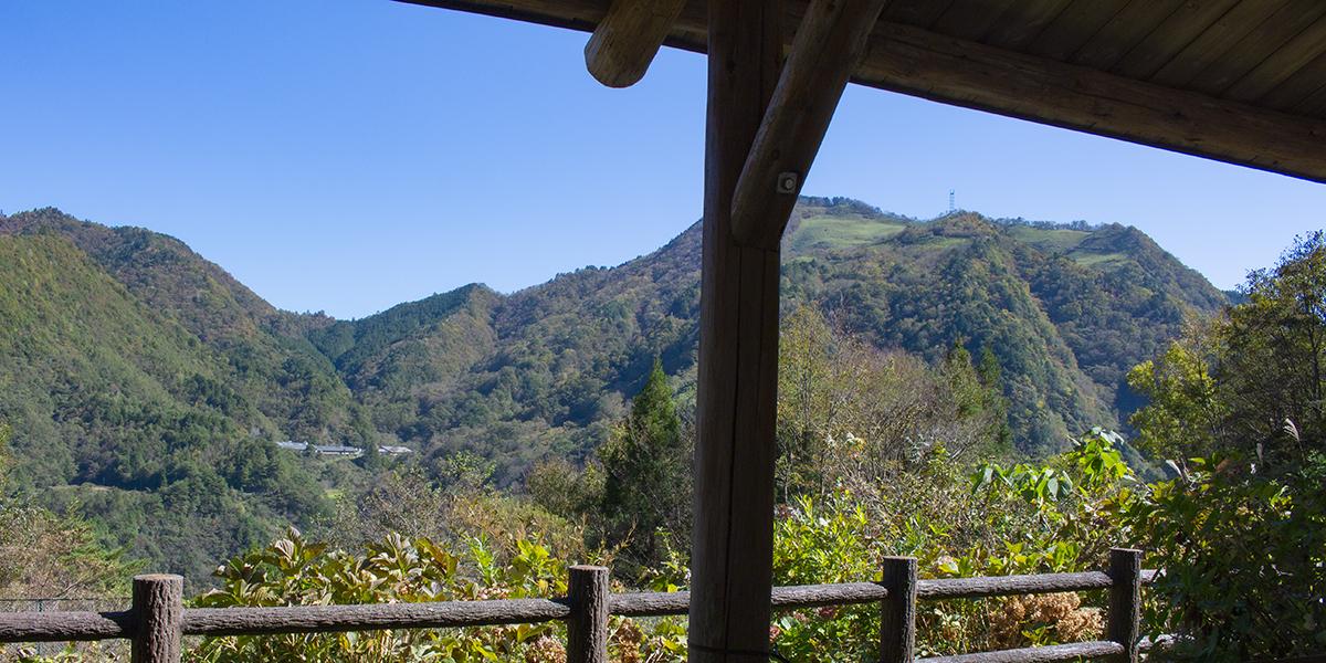 里の茶屋・東屋からの景色
