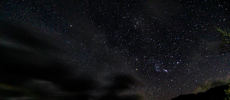 【星空観察】白滝の里の星空