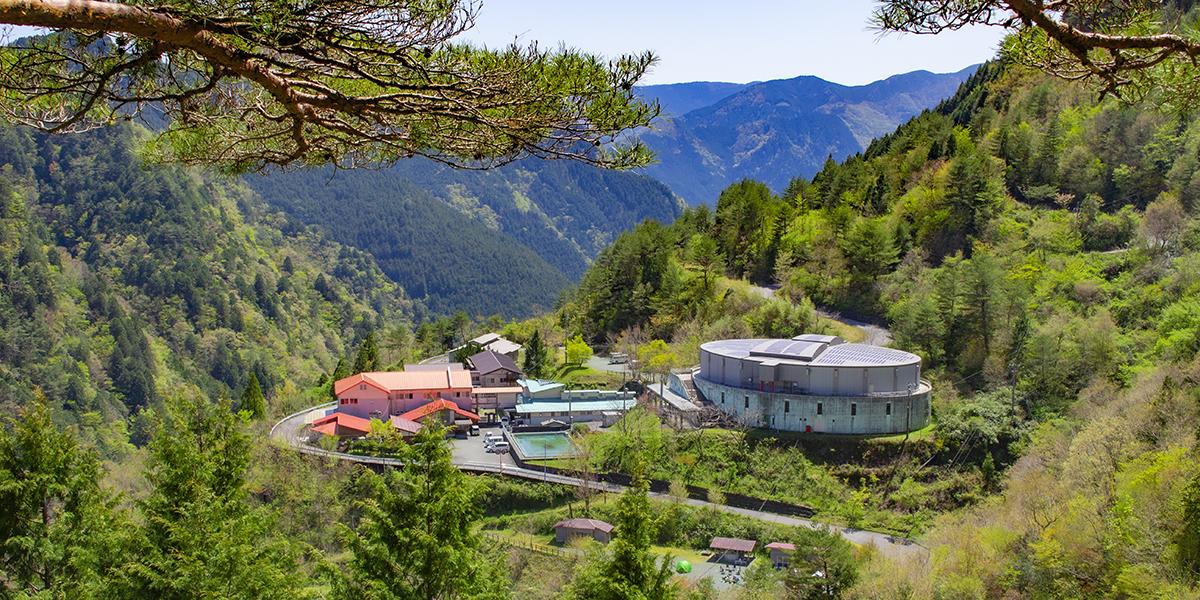 自然王国白滝の里全貌